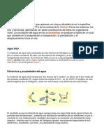 Composicion Quimica Del Agua e Informe