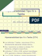 Hipersensibilidad Tipo IV (DTH)