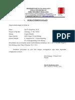 Surat Pernyataan Pemberlakuan Kurikulum
