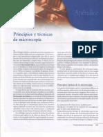 Apéndice, Principios y Técnicas de Microscopía.