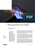 Soldadura Brazing Revista Metal-Actual