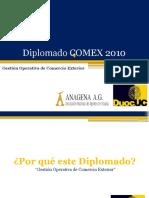 Diplomado Anagena Comex 2010