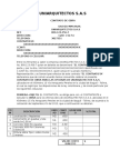 Contrato de Obra - Uniarquitectos s.a.s
