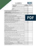 Checklist Te4