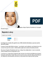 Najeeba's Story - Amnesty International Australia