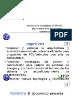 Arquitectura Del Sistema de Propulsión y Topologías De