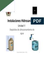 Depositos de Almacenamiento de Agua