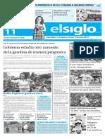 Edición Impresa El Siglo 11-04-2016