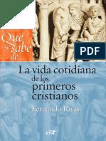 91614914 La Vida Cotidiana de Los Primeros Cristianos