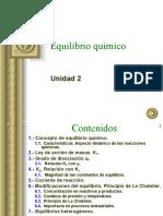 Clase Equilibrio Quimico Aspectos Cualitativos