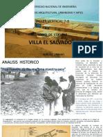 Analisis Urbano de Villa El Salvdor