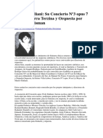 Mauro Giuliani y Su Concierto n3 Op7