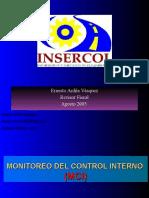 Monitoreo Control Interno Mci Insercol