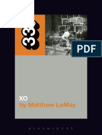 Elliott Smith's XO - Matthew LeMay