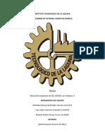 Manual de Instalación SQL Server Con Windows 7