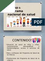 Programa Nacional de Salud de La Infancia Con Enfoque Integral.