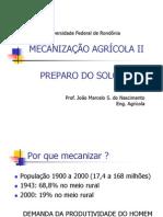 Preparo Periodico Do Solo - Mecanizacao Agricola