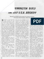 Edward J. Pennington Airship Articles