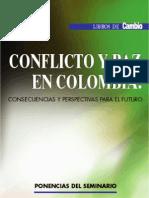 Libro Conflicto y Paz en Colombia