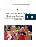 Corowa Aquatic Centre Regional Concept Plan 2.0