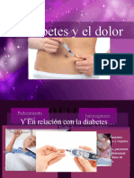 diabetes y dolor