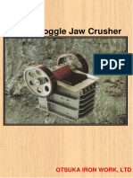 3. Single Toggle Jaw Crusher