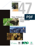 Cbd Water Wetlands Forest Ecol Econ Pol Linkages En