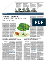 La Nacion, Suplemento Enfoques, Sobre Los Atentados de Charlie Hebdo