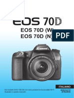 EOS 70D Instruction Manual IT