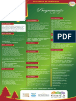 Programacao Natal Imperial 2015