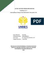 laporan praktikum sistem mkroprosesor