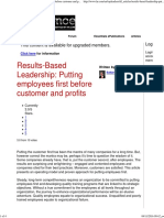 Results-Based Leadership_ Putting Employees First Before Customer and Profits - The Human Resources Social Network