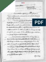 John Quincy Adams Letter 26 October 1821