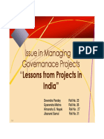 182961926 E Governance Project PDF