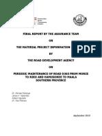 6 Final Report Monze Niko Road