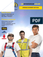 GS Workwear Spring/Summer catalogue