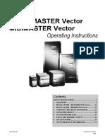 Convertizor Micromaster Vector 6SE3221-0BC40