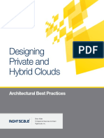 Designing Private Hybrid Clouds