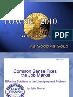 Jake Towne - Jobs Talk at Moravian (Apr 2010)