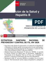 Ponencia 3 Promocion de La Salud y Hepatitis b Vargas