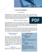 Life Settlement Sales Strategy