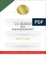 La Magie Du Rangement
