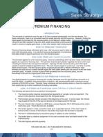Premium Finance Sales Strategy