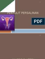 PENYULIT PERSALINAN