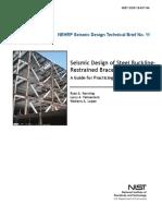 Seismic Design Restrained Braced Frames