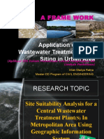 Wastewaterplant Siting