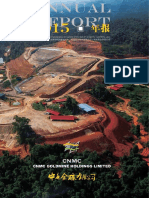 CNMC Goldmine Holdings Limited Annual Report 2015