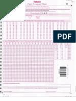 Sample OMR_Paper 2