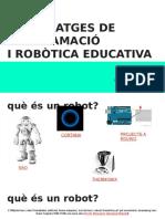 Sessió TAC Robòtica i Scratch