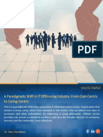 A Paradigmatic Shift in IT Offshoring Industry From Cost Centric to Caring Centric